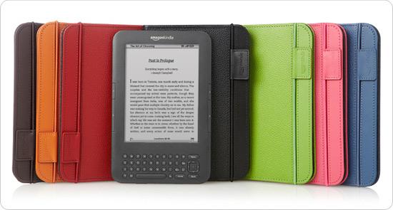 Fundas accesorios Amazon Kindle 3 españa