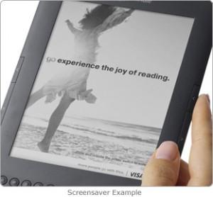 Salvapantallas Kindle with Special Offers con anuncio